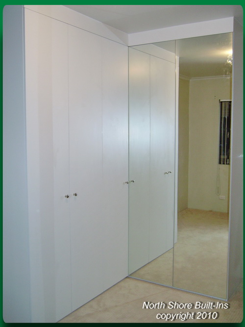 Sliding Wardrobe Doors Mirror Built Ins